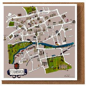 Stamford Map Card