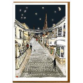 Barn Hill Stamford Christmas Card