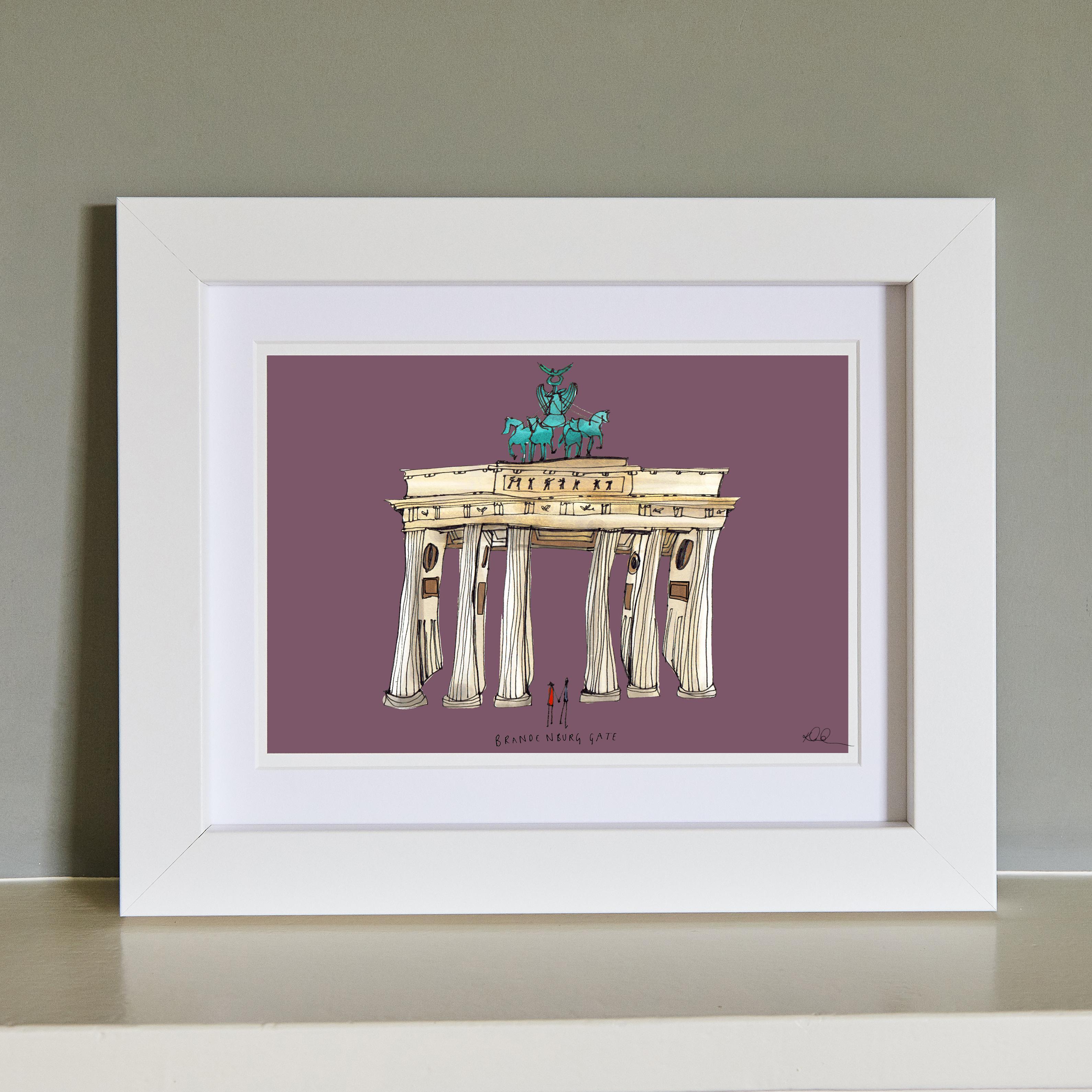 Brandenburg Gate Fine Art Print