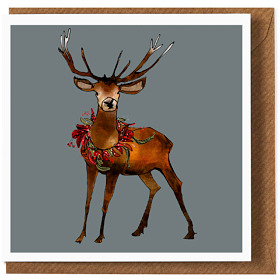 The Stag Christmas Cards (6 Pack)
