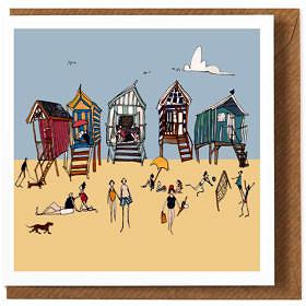 Beach Days Greeting Card