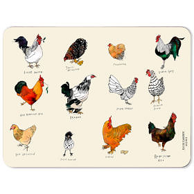 Chickens Melamine Placemat