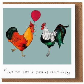 Cluck birthday card katie cardew illustrations cluck birthday card bookmarktalkfo Choice Image