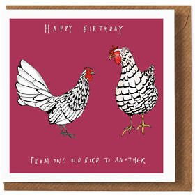 One Old Bird Birthday Card