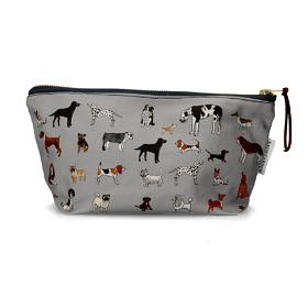 'Dog Life' Cotton Cosmetic Bag