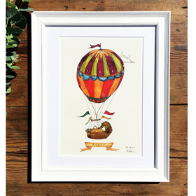 'Welcome to the World' Personalised Print