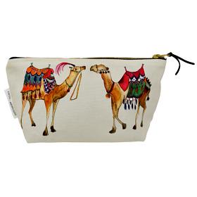 Arabian Nights Cotton Cosmetic Bag