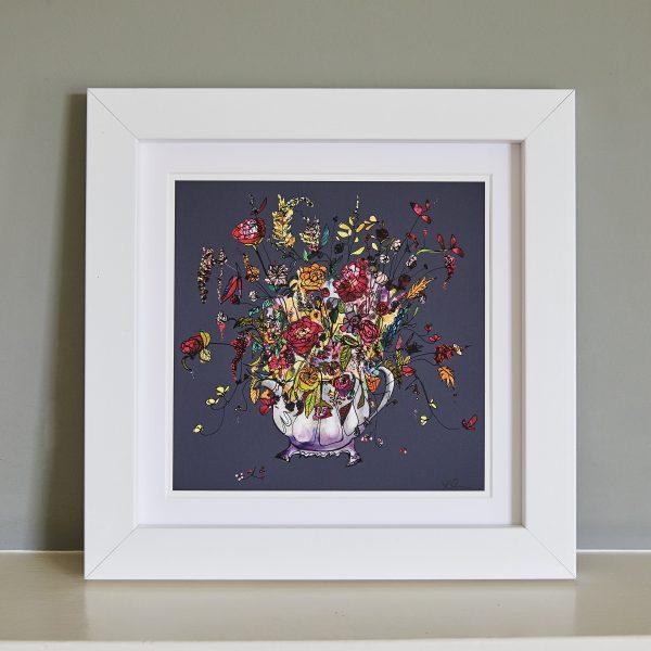 Flowers in a Teapot Fine Art Print