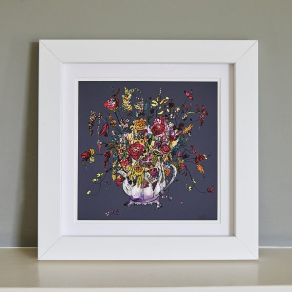 Flowers in a Teapot Fine Art Print