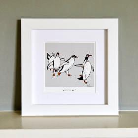 Penguin illustration Fine Art Print