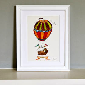 Welcome to the world personalised print