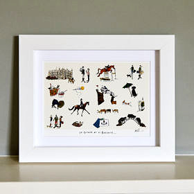 Id rather be at Burghley Fine Art Print