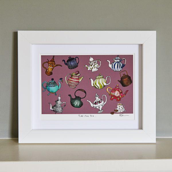 teapots fine art print