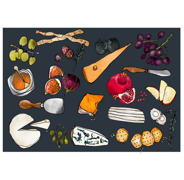 Cheese Board Fine Art Print