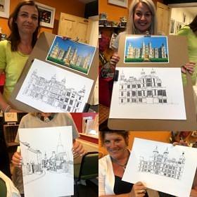 Introduction to Illustration workshops - a BIG hit!