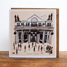 Covent Garden Greeting Card