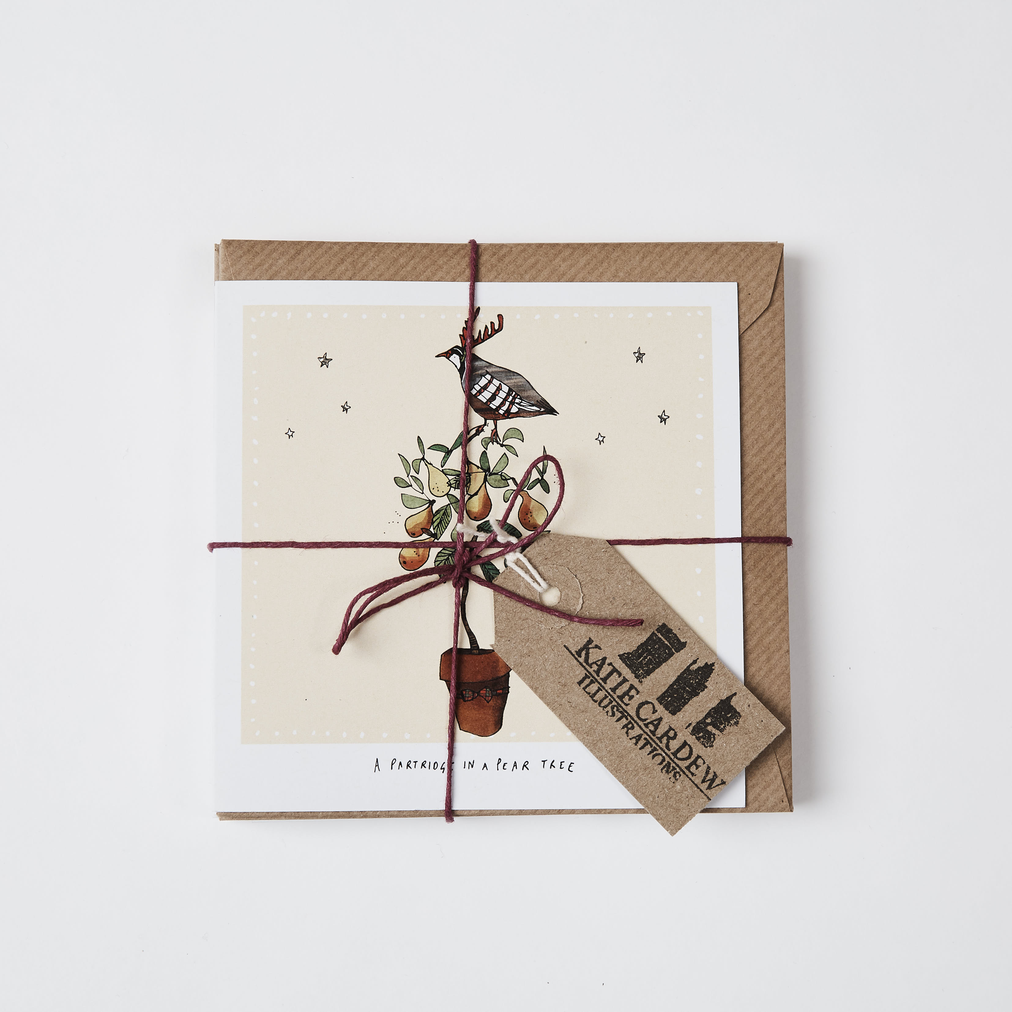 12 Days Of Christmas Cards By Katie Cardew Illustrations