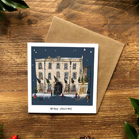 The George at Christmas Christmas Cards (6 Pack)