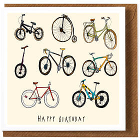 Bicycles Greeting Card **NEW**