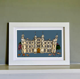 Burghley Ltd Edition Fine Art Print
