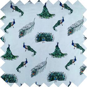 'Peacock' Fabric