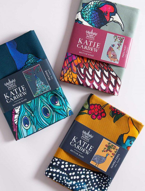 katie cardew country estate tea towels