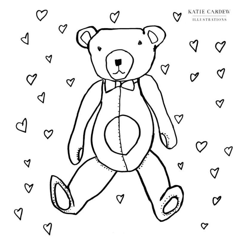 Bear colouring sheets!
