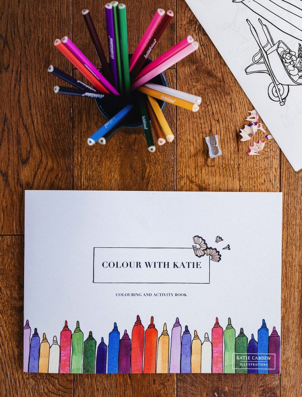 katie cardew colouring book