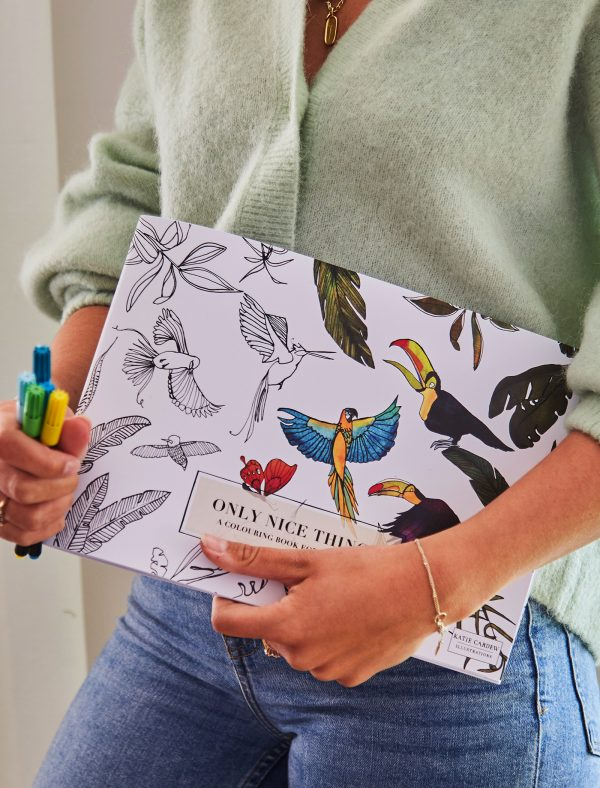 only nice things grown up colouring lifestyle