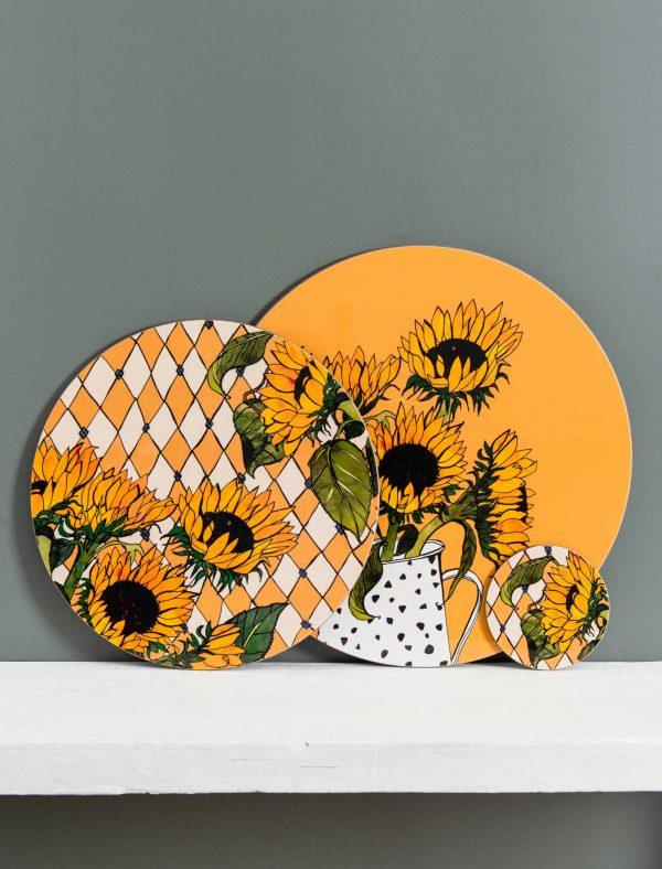 Sunflowers set