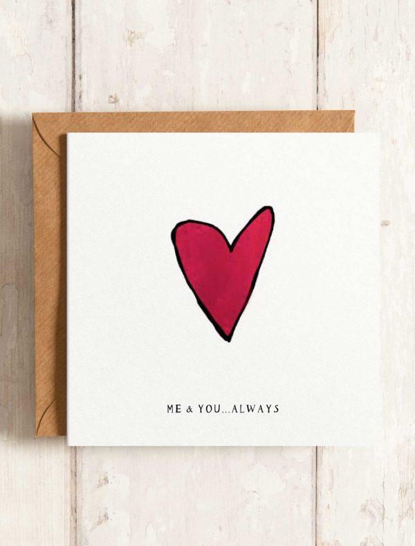 card love heart web