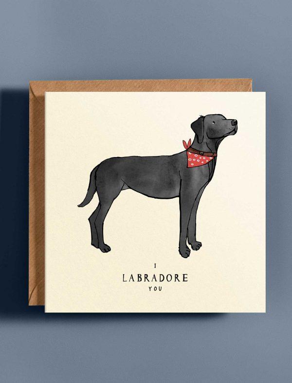 card love labrador web