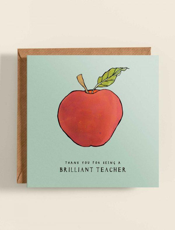 card thank you teacher web