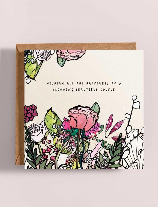 card wedding flowers web