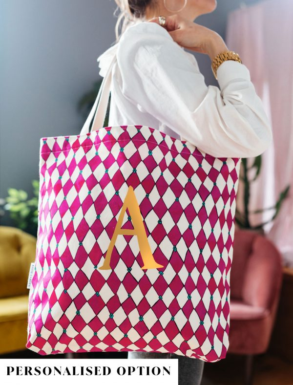 personalised party tote