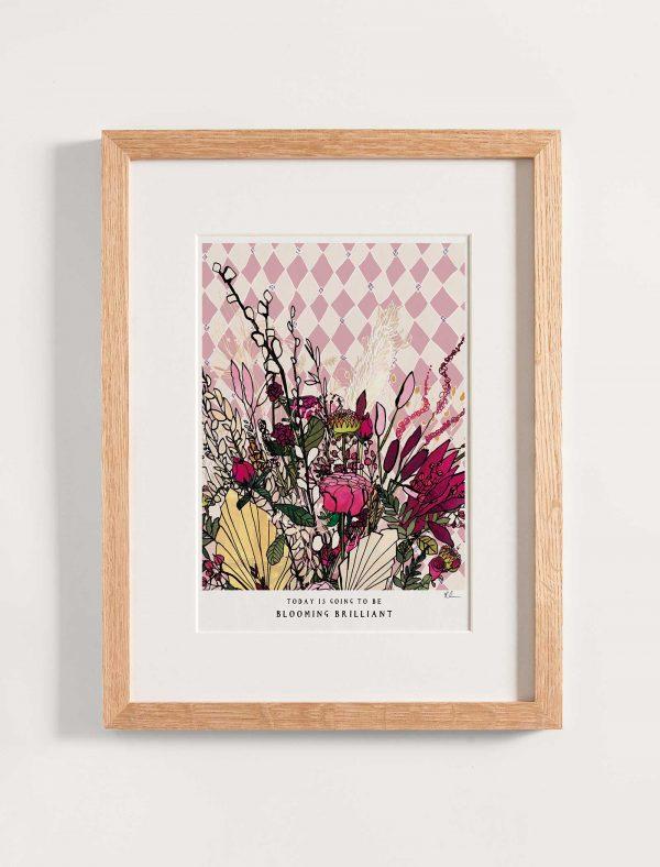 katie cardew print blooming brilliant
