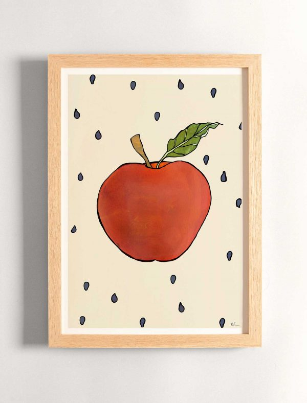katie cardew print apple