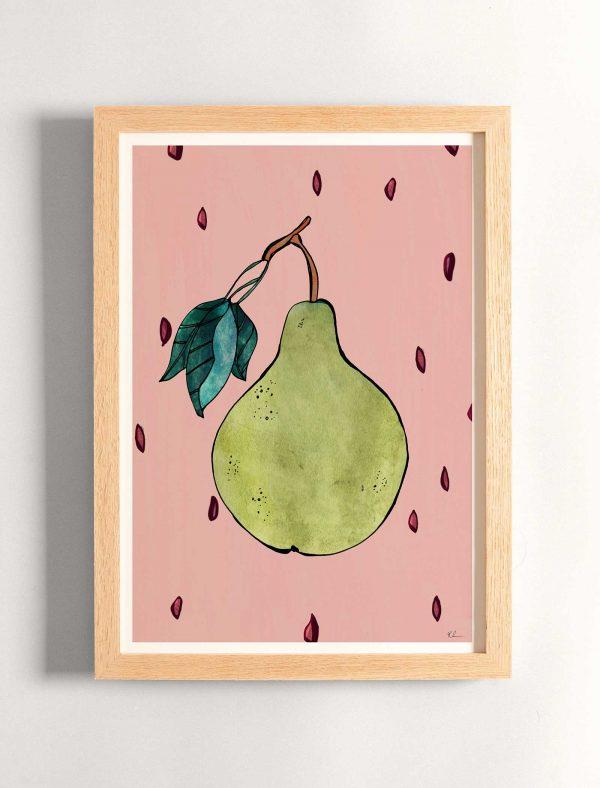 katie cardew print pear