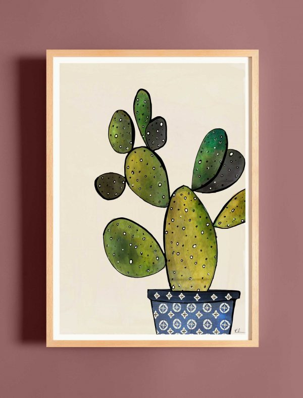 katie cardew print cactus