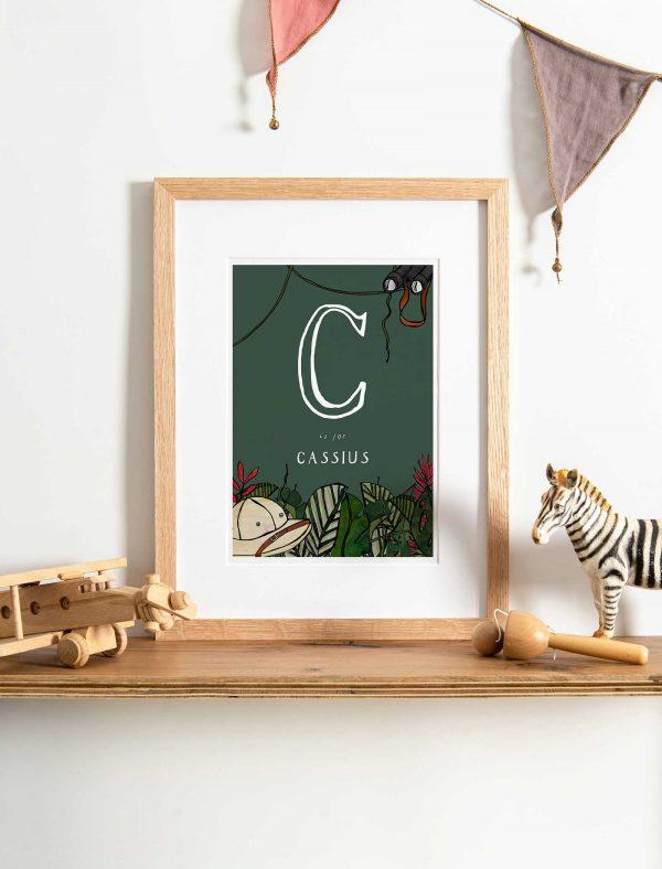 katie cardew explorer personalised print