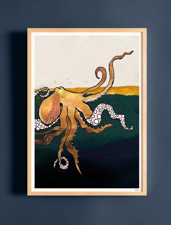 katie cardew print octopus