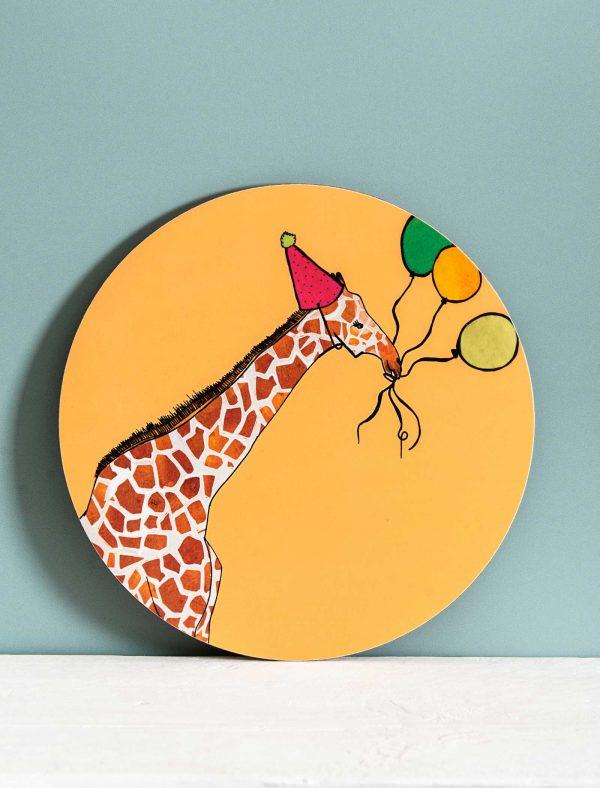 this party giraffe