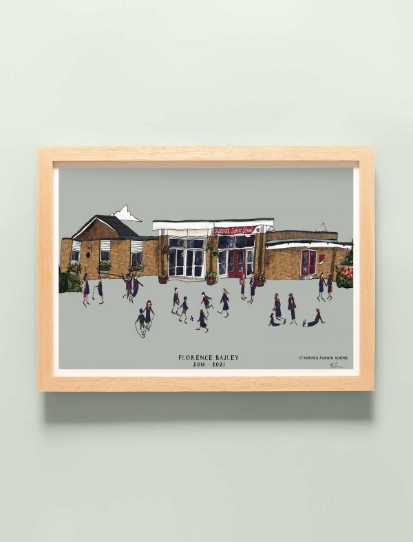 Stamford Junior Personalised print