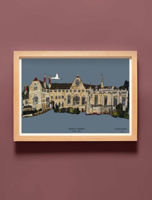 Stamford School Personalised print