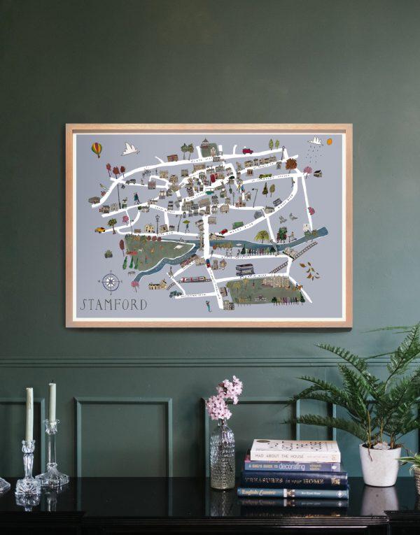 stamford map in situ