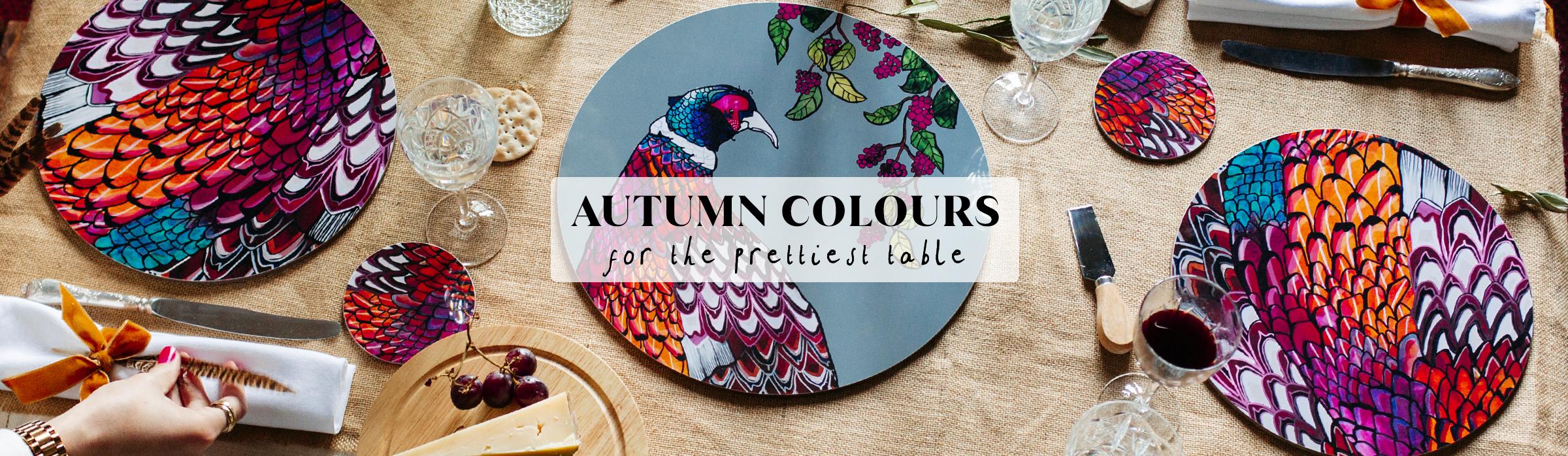 autumn homepage prettiest table